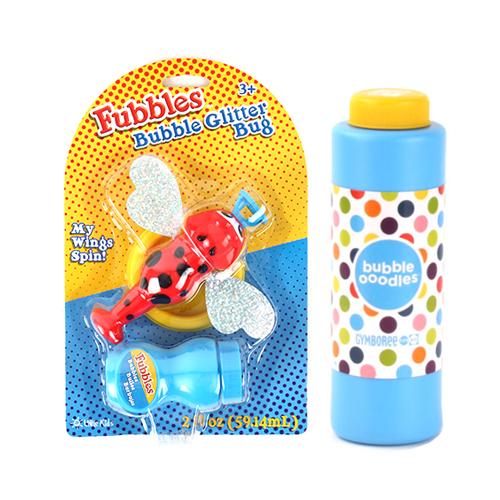 [글리터버그]대용량 버블세트(짐보리 비누방울액 대용량)_Bubble Glitter Bug