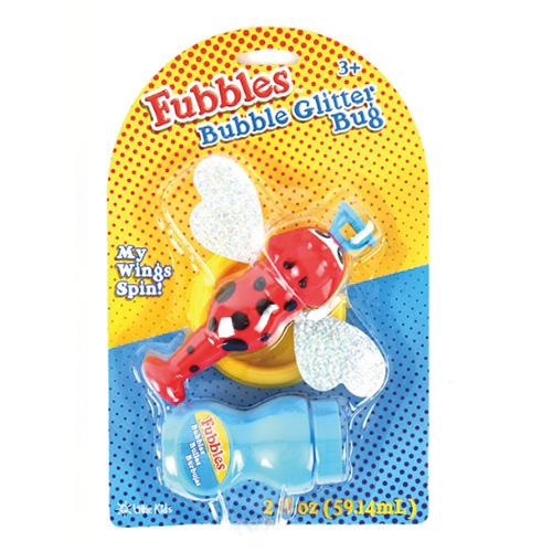[글리터버그]버블 글리터버그 비누방울 세트_Bubble Glitter Bug_(빨강)