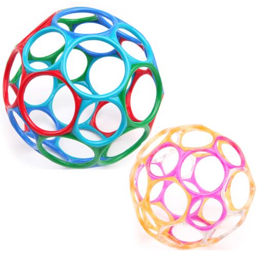오볼1+1 특별구성(한정수량)오볼(대)멀티 Cool color+젤리(소) 핑크/살구